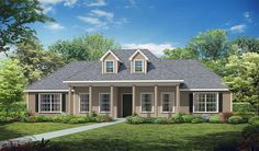 Here's a #CustomBuilt plan so nice, it's been sainted - meet the St. Charles. #UBH #UBHFamily