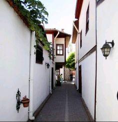 Historical houses-Hamamonu evleri-Ankara-Turkey