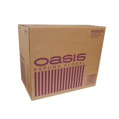 Espuma Megablock OASIS®. Es una espuma especial para arreglos monumentales, para aquellos diseñadores que requieren una forma de gran tamaño. Nueva imagen, misma calidad.