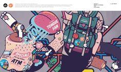 ANATOY™ Graphic Artwork Idea Challenge 01 on Behance