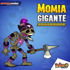 Giant Mummy - La Momia Gigante. #momia #atuq #inkamadness #peru #games #incas #ipad #iPhone #wp