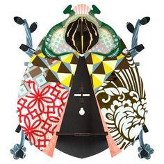 Miho beetle john decoration murale scarabee Miho Beetle John décoration murale étagère secrète scarabée   MDF écologique (encres non toxiques) 27 x 9 x 28.5 cm Fabriqué en Allemagne Livré à plat, montage rapide et facile.
