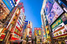 As cidades mais coloridas do mundo - Tóquio, Japão