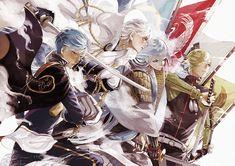 埋め込み Touken Ranbu, Illusion, Manga Anime, Anime Art, Sword Art Online, Princess Zelda, Kawaii, Cartoon, Character