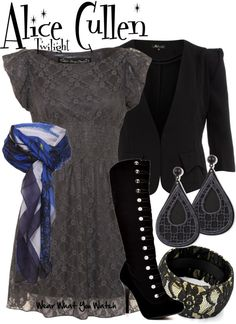 Inspired by Twilight character Alice Cullen played by Ashley Greene.