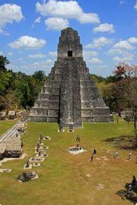 Templo del Gran Jaguar, ubicada en Tikal Peten