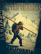 SKI THE SIERRAS, SIGN