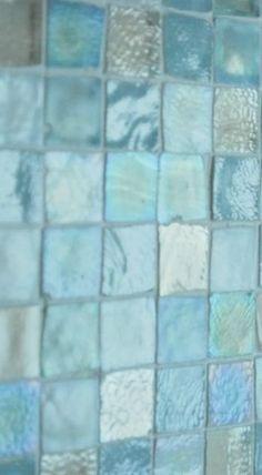 Turquoise Sea Glass Tiles