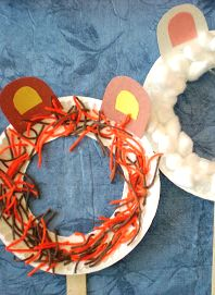 Fun Mask Craft with a Paper Plate for Imaginative Play