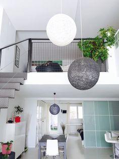 Un favorito personal de mi tienda Etsy https://www.etsy.com/es/listing/234758674/2-sphere-2-lamparas-esfera-gris-y-blanca