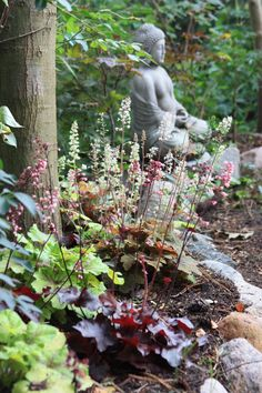 1000 bilder zu schattengarten auf pinterest garten schattenspendende pflanzen und schattierungen. Black Bedroom Furniture Sets. Home Design Ideas