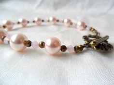 Pink pearl bracelet £12.00