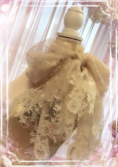 Angelina Stole - beige frenchlace stole designer womenswear lace shawl couture luxurious couture french spring https://www.facebook.com/emilycheongcouture