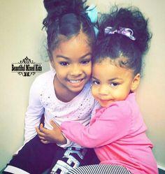 Mixed race babies