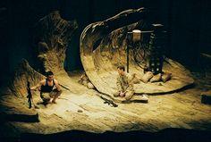 Sand. Julie Miles Theater. Set design by Anita Fuchs. 2008