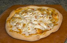 Goat Cheese Crab Meat Pizza