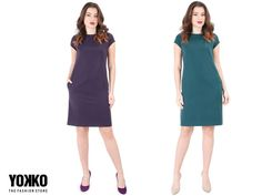 Pine green or purple?🌿 AIDA dresses | YOKKO fall16 #dress #green #purple #dayoutfit fashion #women