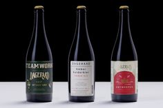 Branding and packaging for Belgian-style craft beer