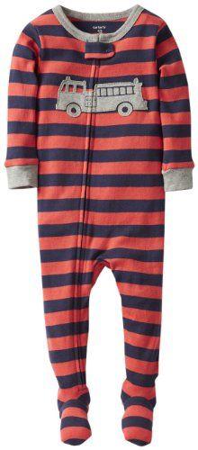 Carter's 1 Piece Cotton Striped Footie (Baby) - Navy/Orange-12 Months Carter's http://www.amazon.com/dp/B00HY5G87S/ref=cm_sw_r_pi_dp_kJlAvb0VAAKNA