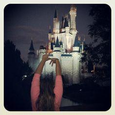 #KKG does the Cinderella Castle