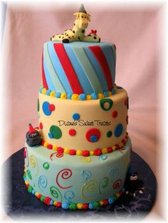 colorful Cakes | oliver's inspired mama: Ten on Tuesday {birthday cakes}