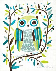 Night Owl II Posters van Michael Mullan bij AllPosters.nl
