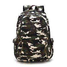 a45f4fd321e3e HOT Camouflage Women Backpack Bag Fashion Large Laptop Computer Bagpack  Casual Canvas Travel Backpack School Bags