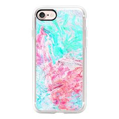 Paper Marble  Phone Case - iPhone 7 Case, iPhone 7 Plus Case, iPhone 7... ($40) ❤ liked on Polyvore featuring accessories, tech accessories and android case