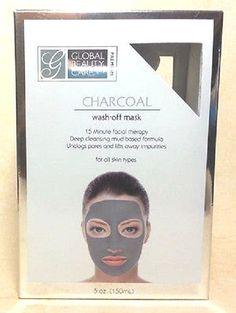 Global Beauty Care Premium Charcoal Wash-Off Mask 5oz/150ml #GlobalBeautyCare