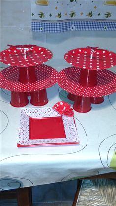 Para utilizar en candybar de  fiesta flamenca