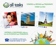 Saiba mais sobre histórias e curiosidades sobre os mais de 30 idiomas que traduzimos.
