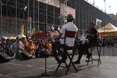 Actor Jaime Camil with NASCAR driver Daniel Suarez at Auto Club 400. #ACS20 #NASCAR #DanielSuarez #JaimeCamil
