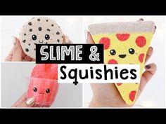 DIY CUTEST SATISFYING SLIME AND SQUISHIES! - NIM C
