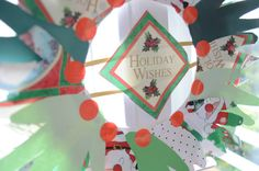 Crafting in the lobster � Handprint Wreath Full instructions on the phil&teds blog. Make a beautiful keepsake with your little ones these holidays!