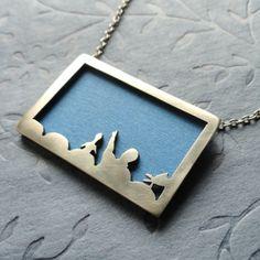 MST3K-themed silver locket (heehee)