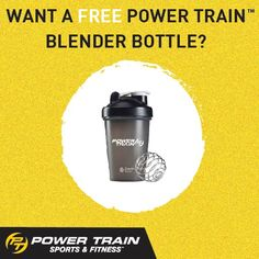 This is no April fool's joke! Receive a FREE 20oz. Black Blender Bottle when your friend or family member signs up for an annual Fitness Membership. *Participating locations only. #PTGear #ThisIsYourGo