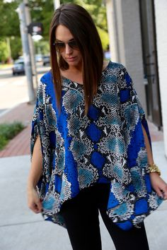 Electric Slide - I love the flowy top but not the print