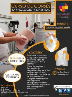 Ampliado el plazo de inscripción hasta el 18/06, para el curso de CORSES KYPHOLOGIC Y CHENEAU del día 21 de junio - Artículos de Ortopedia