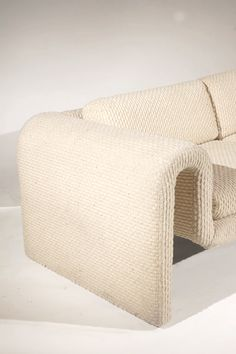 View this item and discover similar for sale at - A Rare Sofa by Steve Leonard for Brayton International A Rare and beautiful sofa in cream chenillen from the 'Ribbon Collection'. This early Home Interior, Interior Architecture, Interior Decorating, Interior Design, Interior Paint, Design Jobs, Vintage Furniture Design, Sofa Furniture, Plywood Furniture