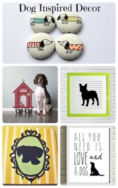 TLN Creations was featured in the awesome blog Child at Heart! Dog Inspired Decor
