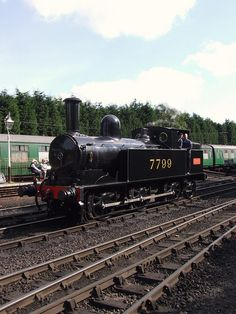 LNWR 'Coal Tank; 7799 at Bridgnorth, Severn Valley Railway (22/09/2012)   Flickr - Photo Sharing!