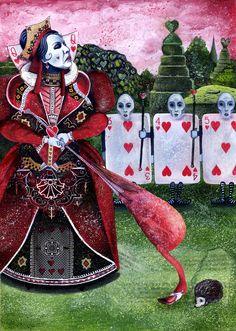 Chris Berg | ILLUSTRATION | Alice in Wonderland