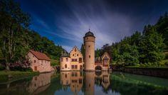 Mespelbrunn Castle, Germany by David Mikkelsen on 500px.