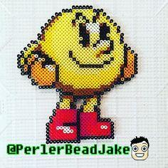 Pac-Man perler beads by  perlerbeadjake