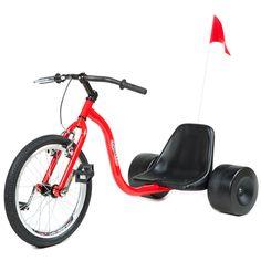 HILLKICKER PRO TRIKE FOR ADULTS - RED A big wheels for adults??? SWEET!!! #funfunfun #youngatheart