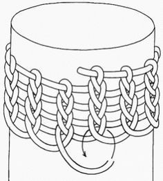 Viking Wire Knitting Patterns - The Prairie SpinnerViking knitting and real knitting*could embed a simple viking knit bracelet in resin*Liked these items? want to learn more about wire crocheting?Alternate example of beginning the Viking knit or weave. Wire Wrapped Jewelry, Metal Jewelry, Beaded Jewelry, Handmade Jewelry, Jewellery, Wire Tutorials, Jewelry Making Tutorials, Wire Crafts, Jewelry Crafts