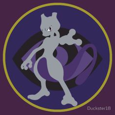 Psychic Type-MEWTWO! by Duckster18