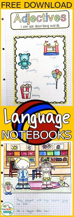 These language activities are FREE to download!