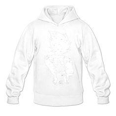 Men Long Sleeve Sweatshirt Hoodies for Dragon-Ball Z Mas L White - Brought to you by Avarsha.com