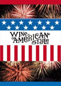 Happy 4th of July!  Wine in style today!